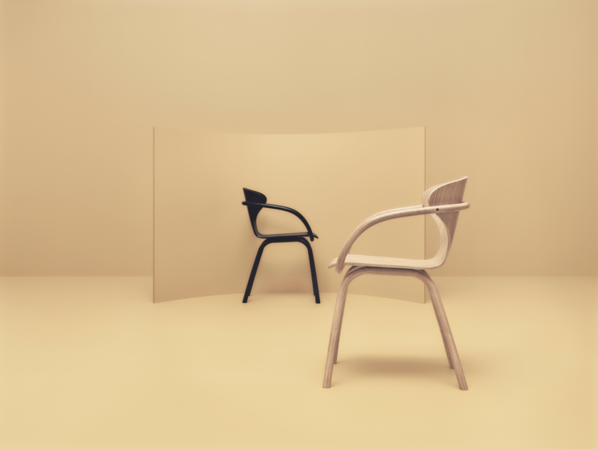 Bend Dining Chair By Bolia Haute Living